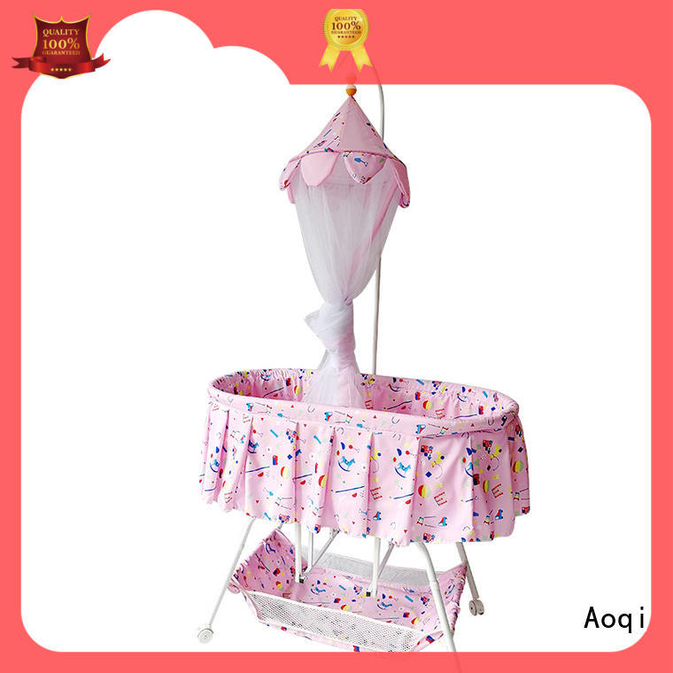 Aoqi cheap baby cots for sale from China for babys room