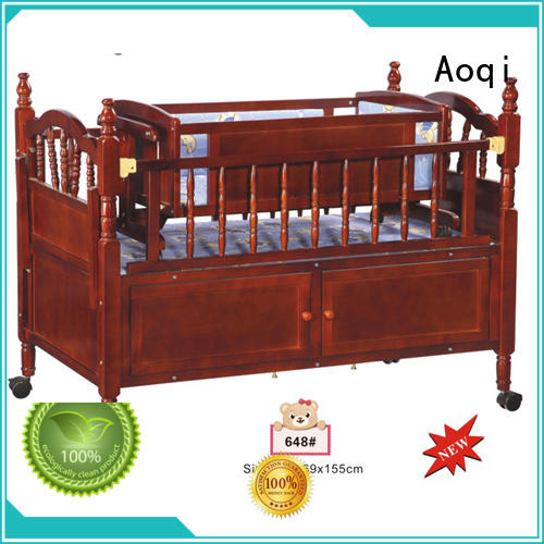 Aoqi baby bed with drawers manufacturer for bedroom