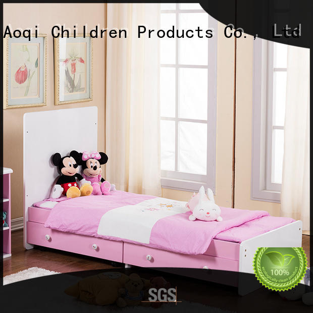 Aoqi wooden baby crib for sale with cradle for babys room