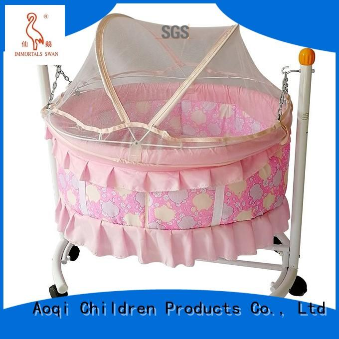 baby cots and cribs electric cabinet baby crib online Aoqi Brand