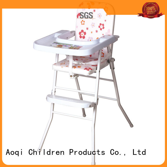 328 baby high chair with wheels 323a for infant Aoqi