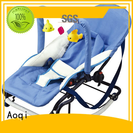 simple portable toddler hanging baby bouncer and rocker Aoqi