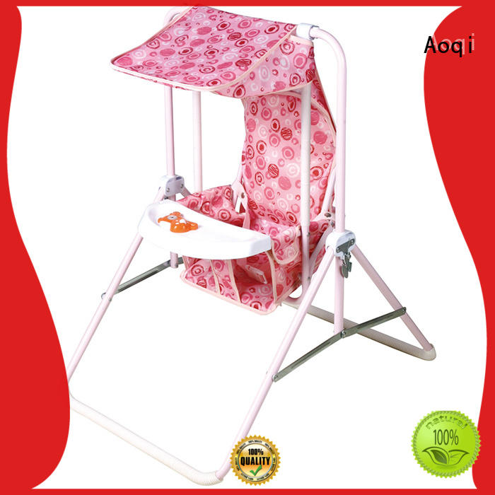 Aoqi durable buy baby swing design for kids