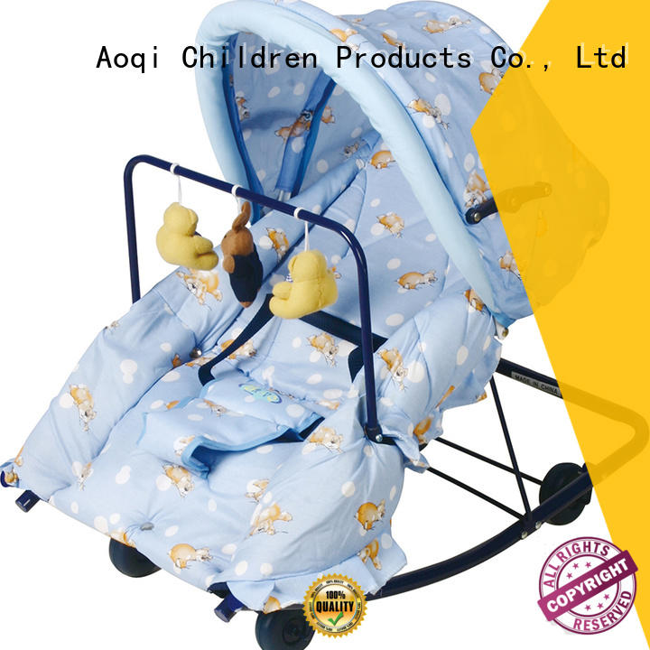 Aoqi musical baby bouncer and rocker born for infant
