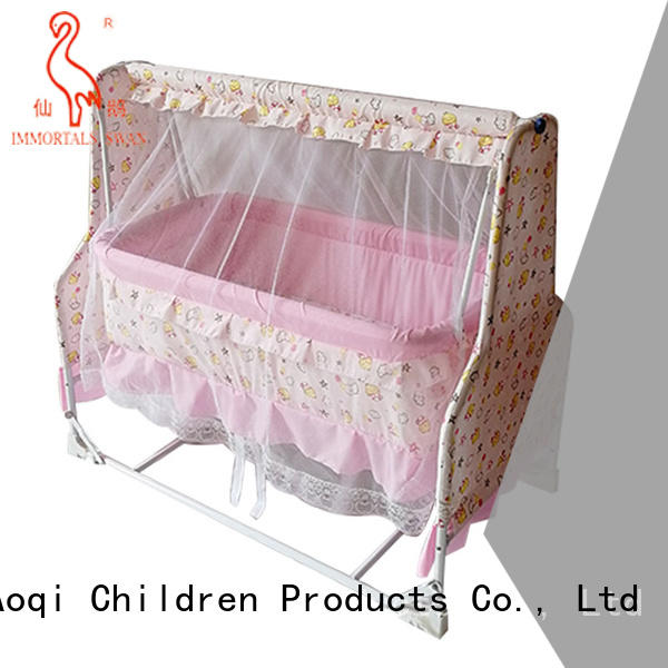 Aoqi multifunction baby bed with drawers from China for bedroom