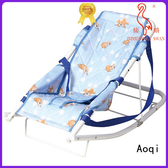 Aoqi foldable newborn baby rocker factory price for home
