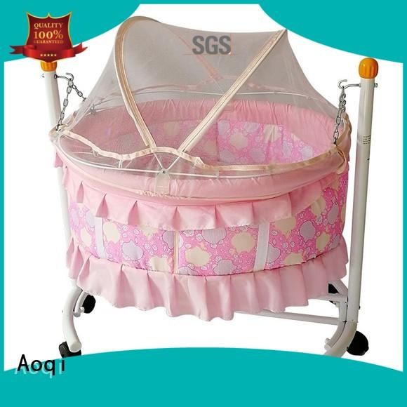 crib baby shape Aoqi Brand baby crib online supplier