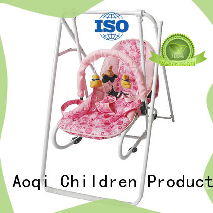 Aoqi hot selling baby swing price design for household