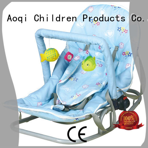 Aoqi baby boy bouncer chair personalized for bedroom
