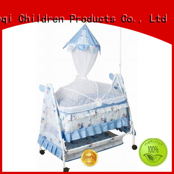 swing Custom shape baby crib online multifunctional Aoqi