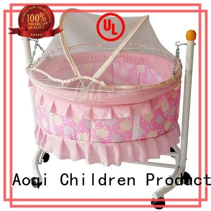 2018 New round shape portable baby swing bed B10