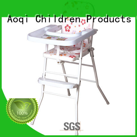 plastic feeding high chair customized for infant