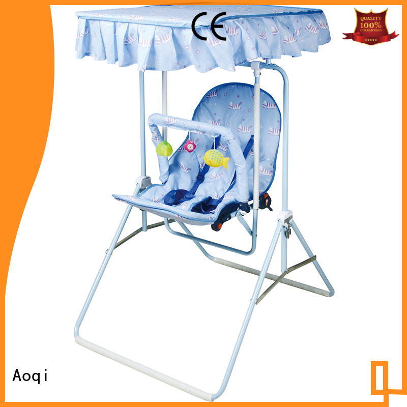 Aoqi baby musical swing chair design for kids