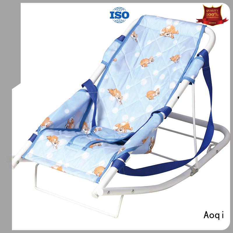 Aoqi comfortable baby bouncer price wholesale for home