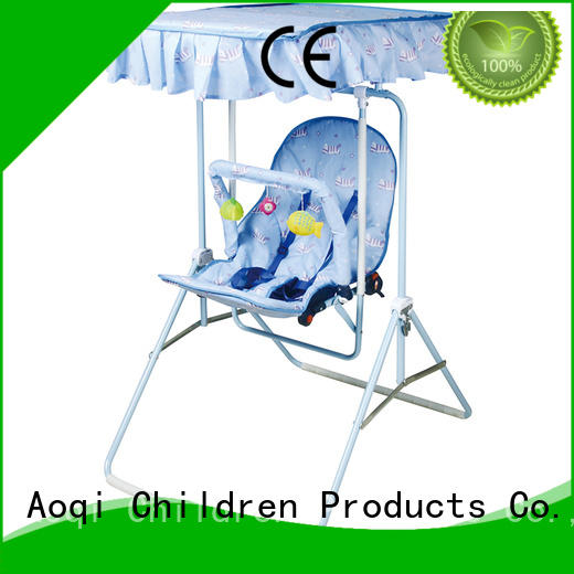 Wholesale foldable cheap baby swings for sale Aoqi Brand