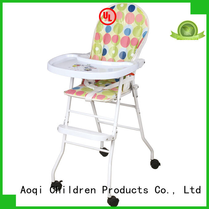 Aoqi special folding baby high chair series for infant