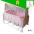 braking baby crib online basket Aoqi company