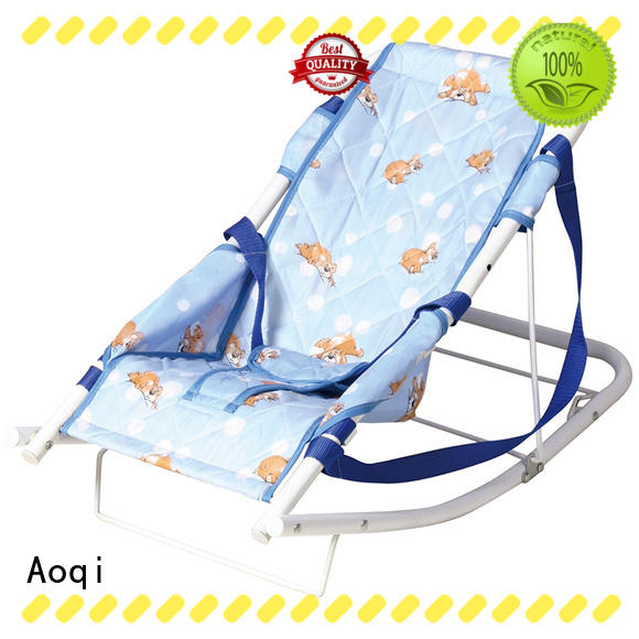 musical baby girl bouncer chair factory price for bedroom Aoqi