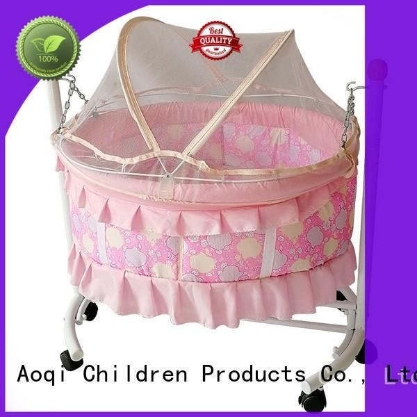 Aoqi portable baby sleeping cradle swing series for babys room