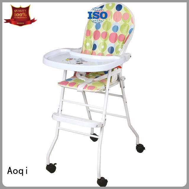 Hot multi-colors child high chair removable metal Aoqi Brand