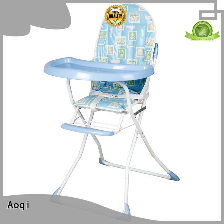 portable folding baby high chair customized for livingroom