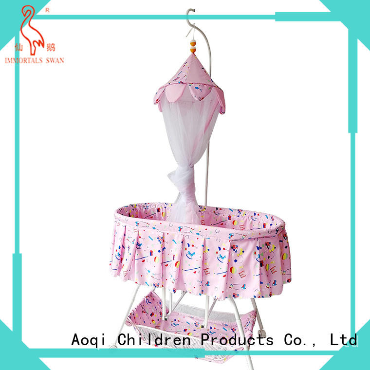 Aoqi cheap baby cots for sale from China for bedroom