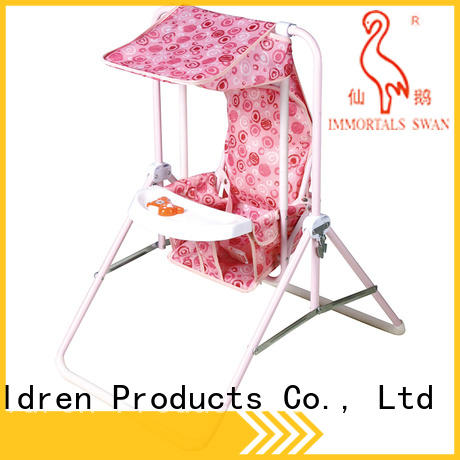 Aoqi durable best compact baby swing factory for babys room