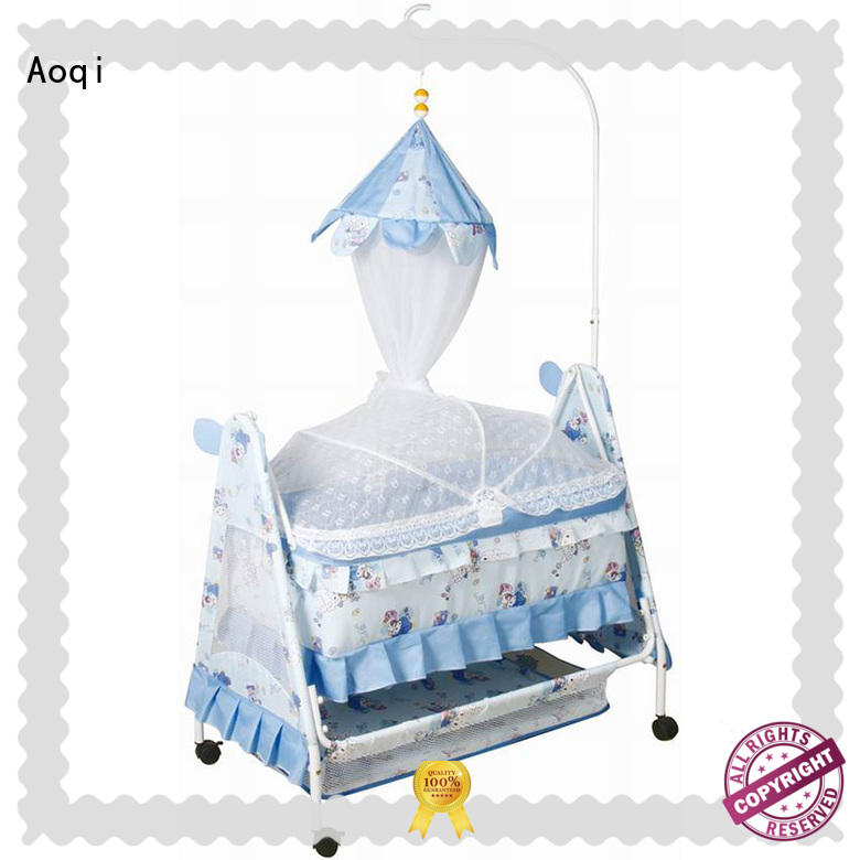 baby bed with drawers with cradle for household Aoqi