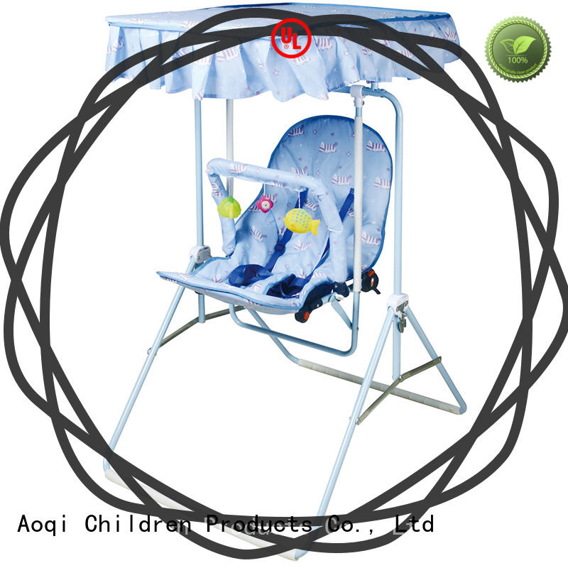 Aoqi best baby swing chair design for babys room