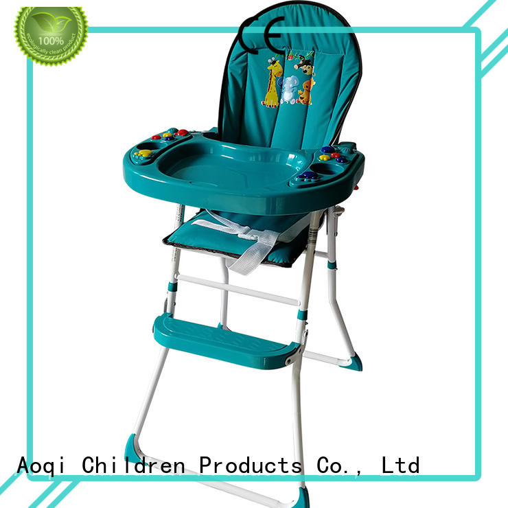 dining baby feeding high chair metal for infant Aoqi