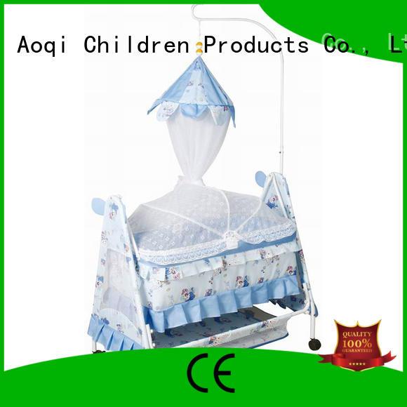 portable baby crib online comfortable Aoqi company