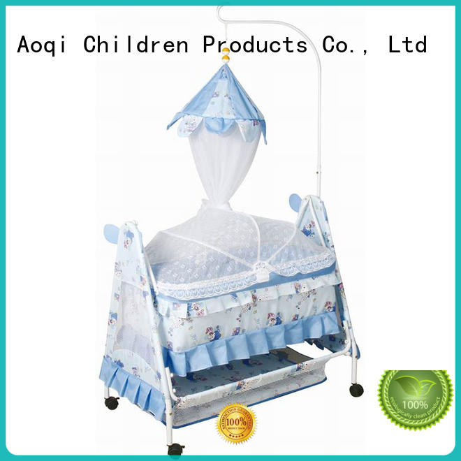 Aoqi transformable baby crib online manufacturer for babys room