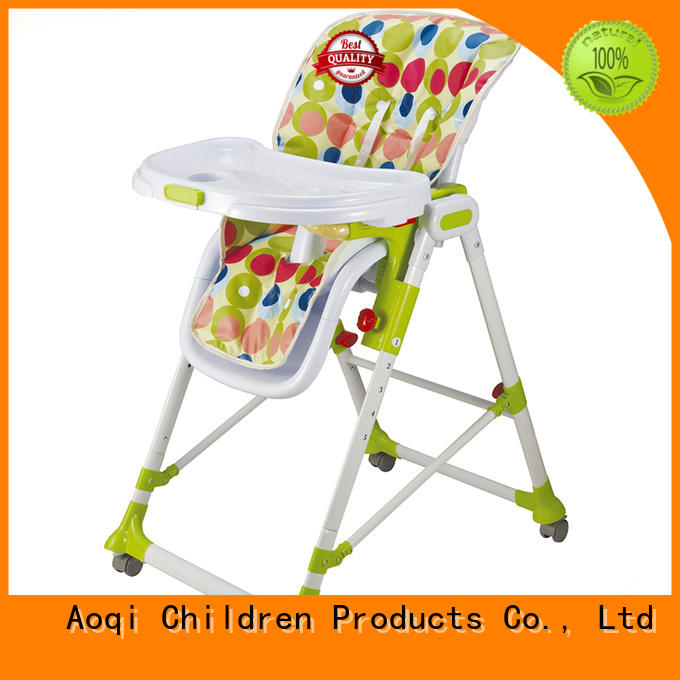wholesale removable designed Aoqi Brand child high chair supplier