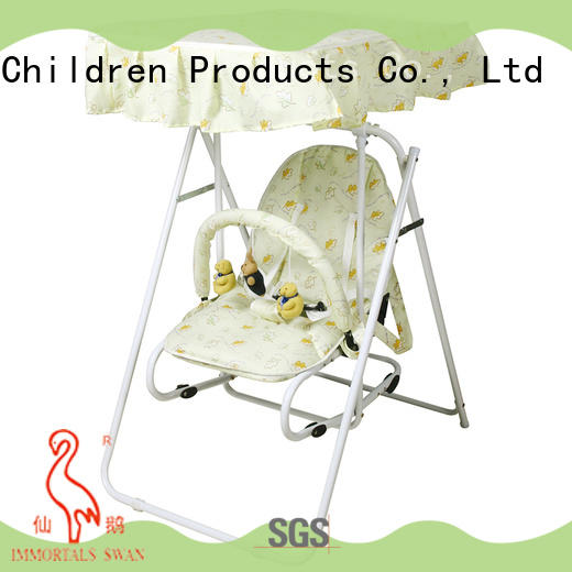 Aoqi multifunctional best compact baby swing inquire now for household
