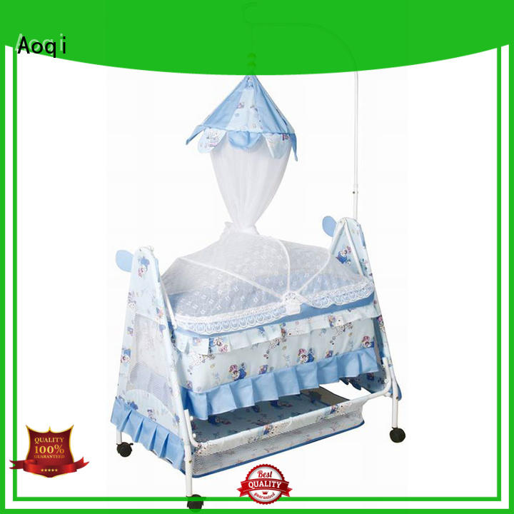 Aoqi cheap baby cots for sale manufacturer for household
