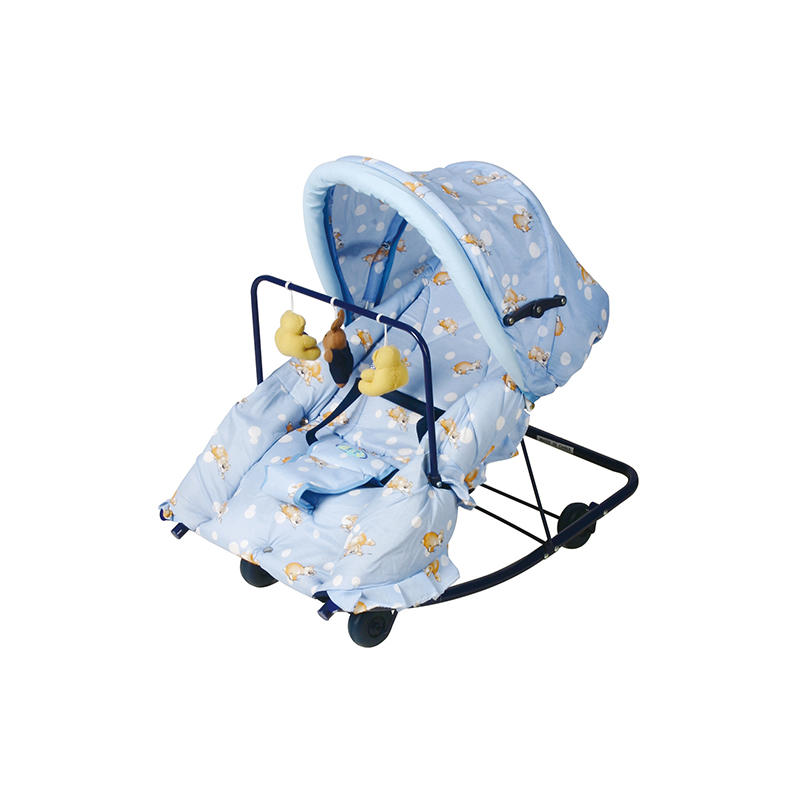 Aoqi foldable newborn baby rocker factory price for bedroom-1