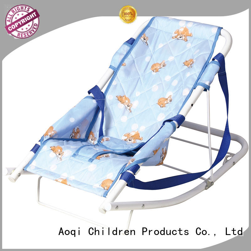 Aoqi baby boy bouncer chair factory price for bedroom