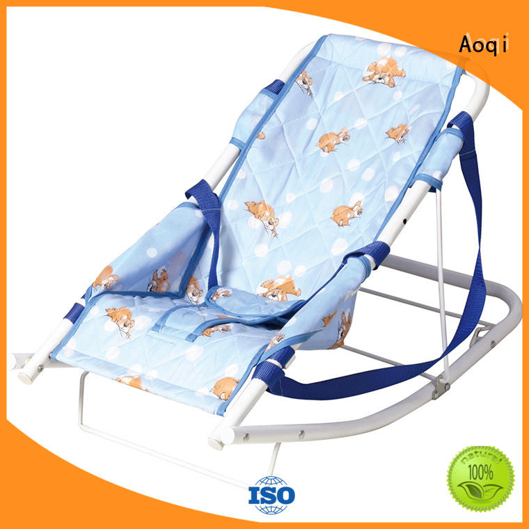 professional baby bouncer with canopy wholesale for infant Aoqi