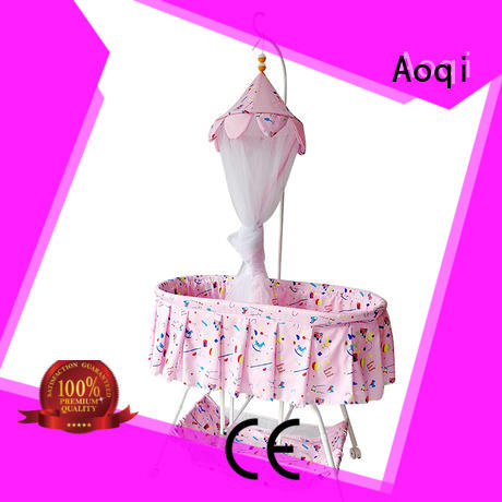 Aoqi cabinet baby cot bed sale manufacturer for household