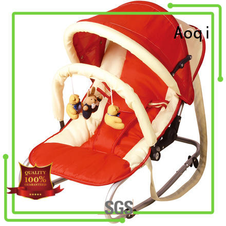 hanging multifunctional high quality baby bouncer and rocker foldable Aoqi