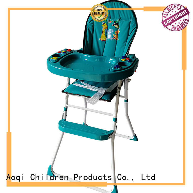 Aoqi foldable baby high chair manufacturer for infant