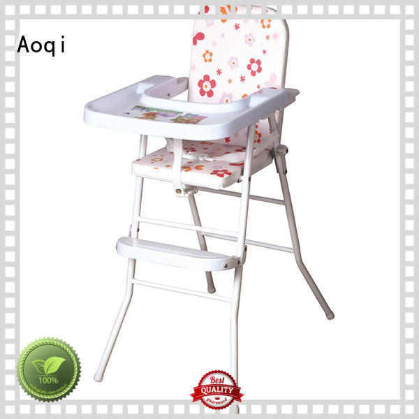 removable stable hot sale Aoqi Brand child high chair supplier
