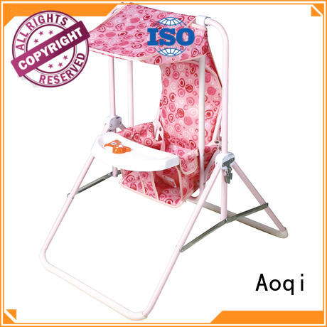 double seat upright baby swing design for household