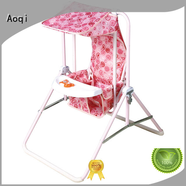 Aoqi double seat cheap baby swings for sale with good price for babys room