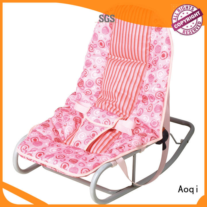 Aoqi baby boy bouncer chair personalized for infant