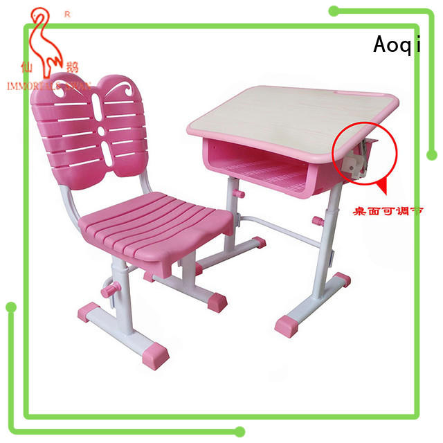 Aoqi study table chair online factory for study