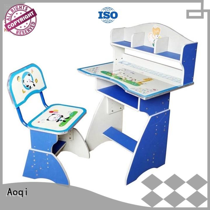 Aoqi sturdy study table and chair for students design for household
