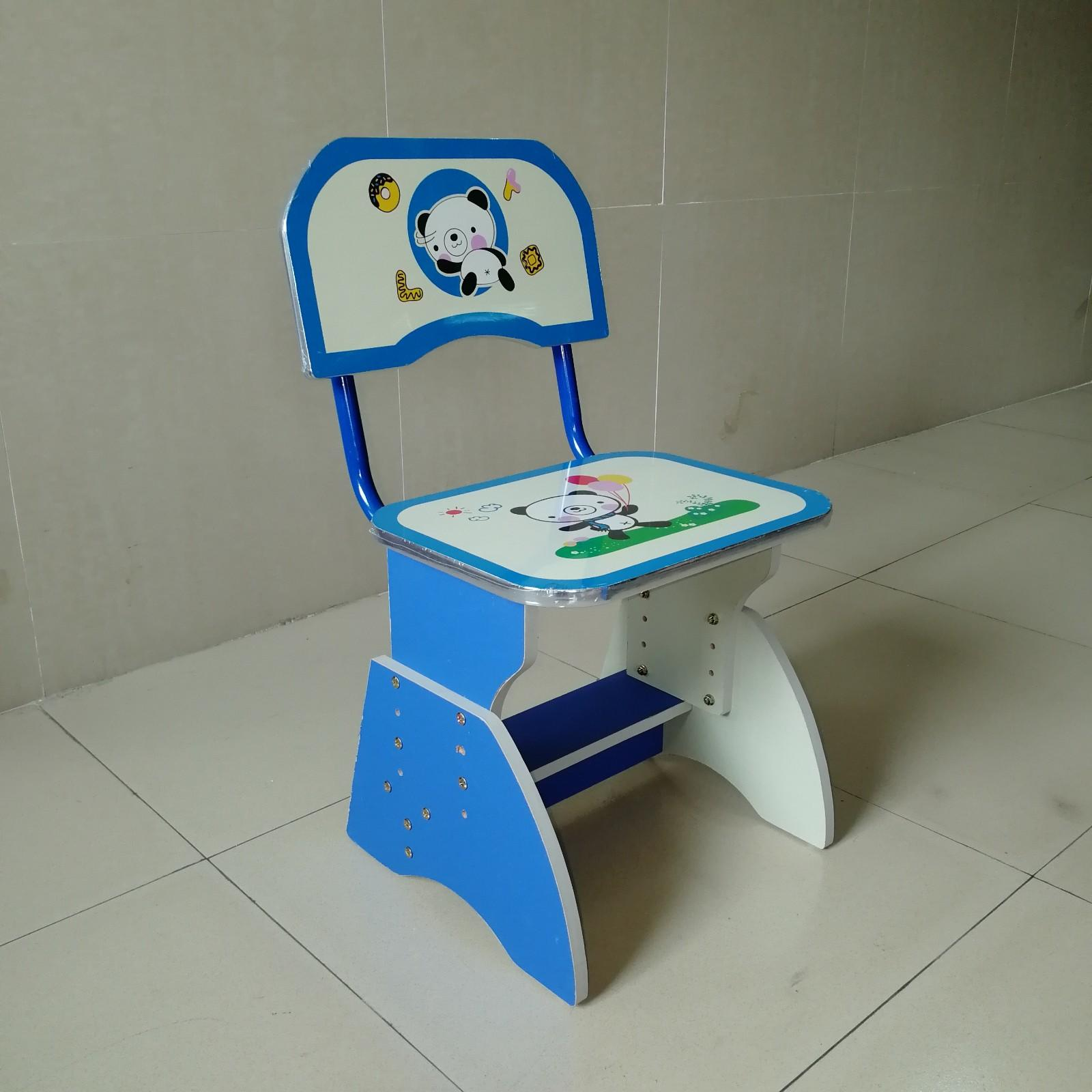 learning foldable children's study table and chair study preschool Aoqi company