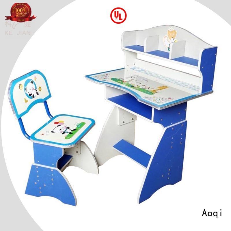 Aoqi elegant kids study table set children for home