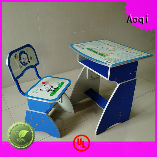 sturdy study desk and chair set factory for study